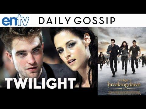 Twilight Breaking Dawn Part 2 Blu Ray: Robert Pattinson & Kristen Stewart Break Up - ENTV