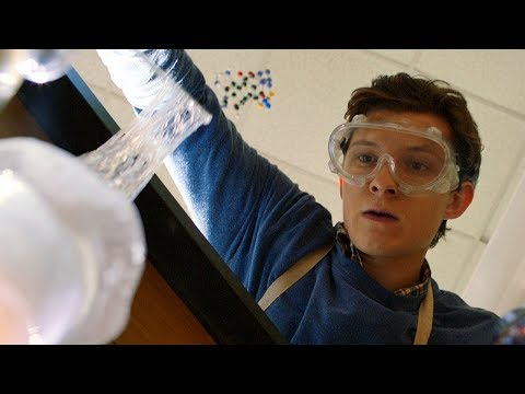 Peter Parker's High School Life - Making Web Fluid - Spider-Man: Homecoming (2017) thumbnail