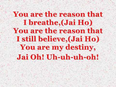 The Pussycat dolls jai ho Lyrics