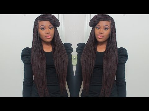 Info On My Senegalese Twists + A quick Style