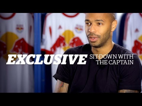New York Red Bulls Exclusive - Final Sit Down with the Captain, Thierry Henry