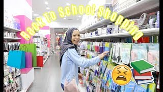 BACK TO SCHOOL SHOPPING!! UGHHHHH
