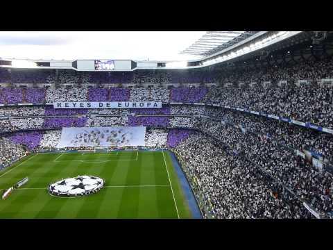 Himno de la Champions. Real Madrid - Bayern Munich