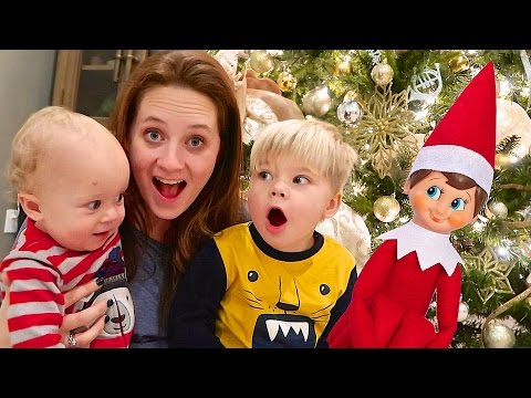HUGE HOMECOMING SURPRISE! - Elf on the Shelf Prank!