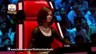 The Voice Cambodia - វង្ស ដារ៉ារតនា VS សន ស្រីពៅ - គូស្នេហ៍គូចម្រៀងច្រៀងបាត់គូ - 05 Oct 2014