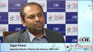 Sagar Pawar, Associate Director, Pharma Lifesciences, PWC, India