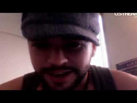 Shayne Ward Ustream Chat in Sweden Part 1 edit
