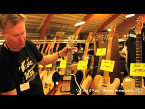 Anders Anderson Guitars / Part 2 / Vintage Guitar Show Svendborg / Vintage&RareTV