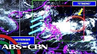 Ineng strengthens into tropical storm; to bring rains over parts of Luzon, Visayas
