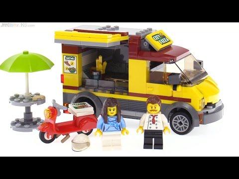 LEGO City Pizza Van review 🍕 60150