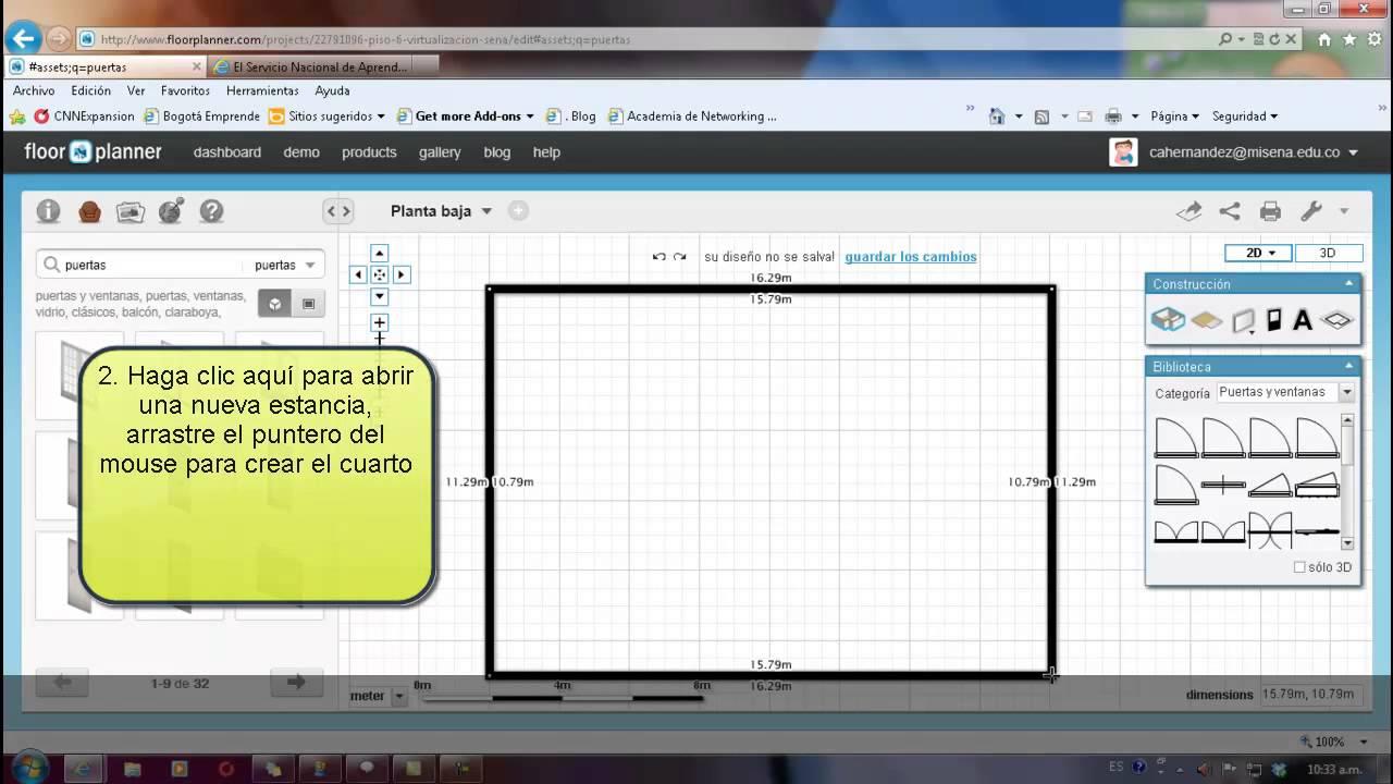 Principios B Sicos De Floorplanner Youtube