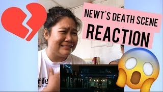 MAZE RUNNER: DEATH CURE ''NEWT DEATH SCENE REACTION''