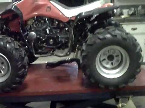 Modified Chinese 125 ATV