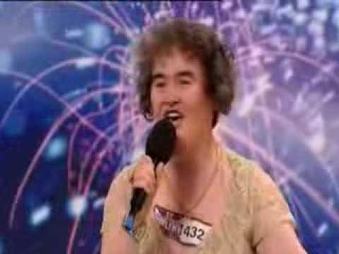 Susan Boyle - vystoupení s českými titulky