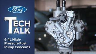 6.4L Power Stroke Diesel High-Pressure Fuel Pump Concerns | Ford Power Force Tech Talk