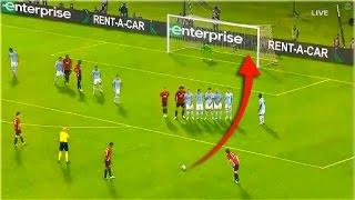 Top 10 Free Kick Goals 2017 ft Marcus Rashford, Messi, Ronaldo, Neymar