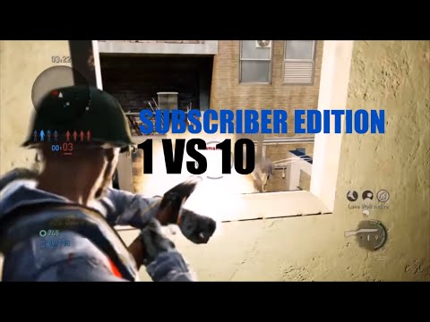1 Vs 10 Comeback (Subscriber Edition) - The Last Of Us: Remastered Multiplayer (Checkpoint)