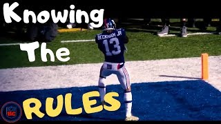 "NFL  ""Knowing the Rules""  Moments"