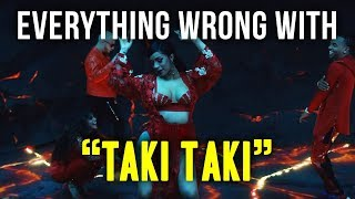 "Everything Wrong with DJ Snake - ""Taki Taki ft. Selena Gomez, Ozuna, & Cardi B"""