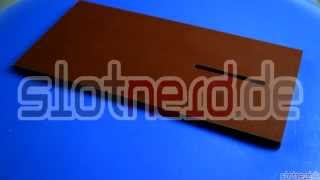 [Richtplatte oder Montageplatte für Slotcars] Video