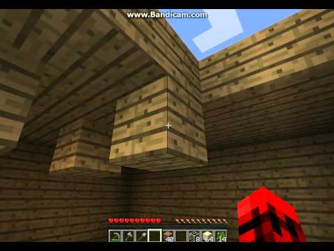 MineCaft - PeaceFul World Bilding upstairs to house