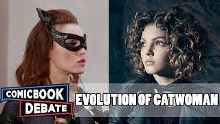 Evolution of Catwoman in Movies TV in 6 Minutes 2017