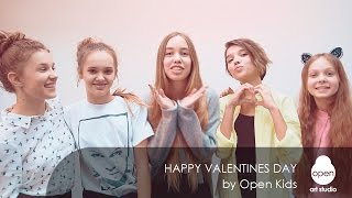 Happy Valentines Day by Open Kids - Open Art Studio