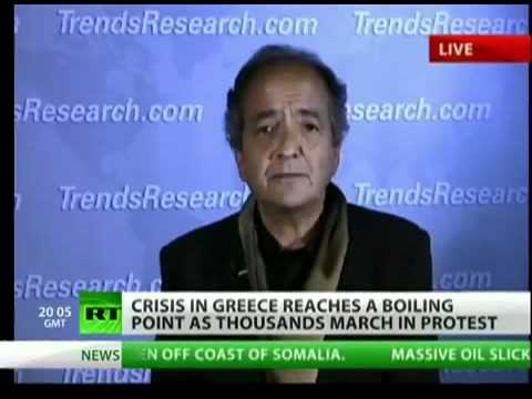 Celente On the Bailout of Greek and American Banks 2