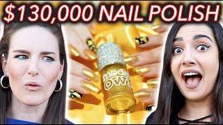 $130,000 NAIL POLISH?! WTF! ft. Safiya Nygaard by : Simply Nailogical