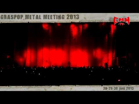 NEW ANNOUNCEMENT FOR GRASPOP METAL MEETING 2013