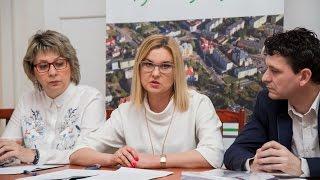 Konferencja prasowa dotycząca budżetu obywatelskiego (31.03.2017)