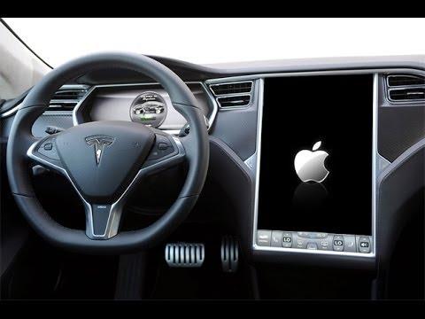 TESLA may run APPLE iOS in CARS