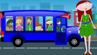 The Wheels On The Bus | Nursery Rhymes For Kids | Children Songs | Baby Rhymes