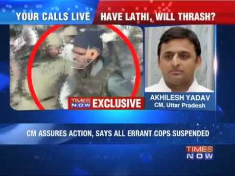Exclusive: Uttar Pradesh CM Akhilesh Yadav on police brutality in Aligarh.