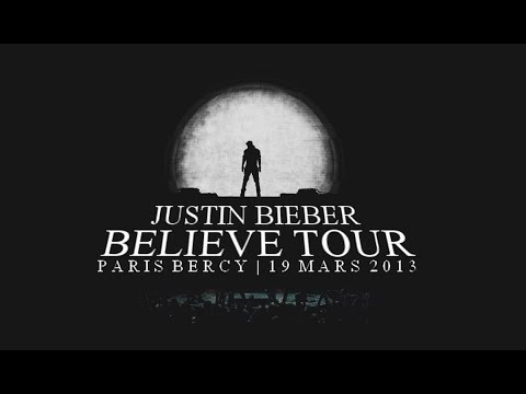 Justin Bieber Believe Tour Paris Bercy 19 Mars 2013 Full video