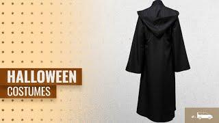 Joyshop Men Halloween Costumes [2018]: Joyshop Mens Halloween Witch Cosplay Robe Costume Adult