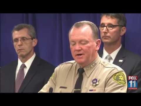 Authorities discuss operation targeting Mexican Mafia in Los Angeles