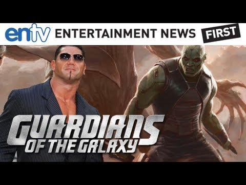 Guardians of the Galaxy First Look : Dave Batista Is Drax The Destroyer - ENTV