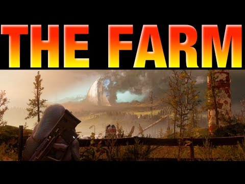 Destiny 2 Beta - Touring The Farm - Hidden Areas and Secrets - Destiny 2 Social Space