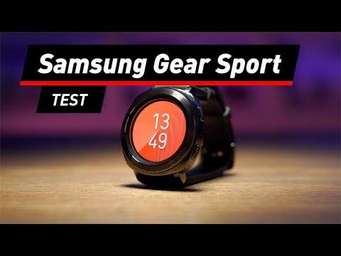 Samsung Smartwatch Gear Sport: Die schlanke Schwester der Gear S3