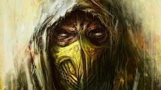 Mortal Kombat X -  alguns combos Scorpion HellFire
