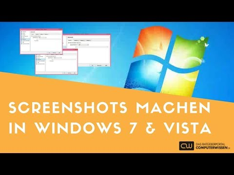 Windows 7 und Vista Screenshots machen - TUTORIAL