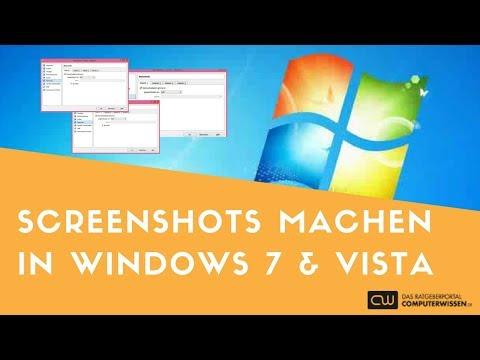 wie erstelle ich einen screenshot windows 7