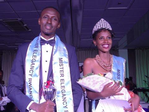 MISS & MISTER  ELEGANCY RWANDA 2016 CROWNED