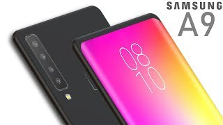 Samsung A9 (2018) with 4 Camera, First Look, Specification, Price and Release Date !