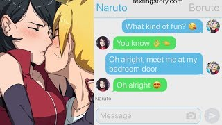 Boruto Want's Sarada! 😱 | Naruto Group Chat