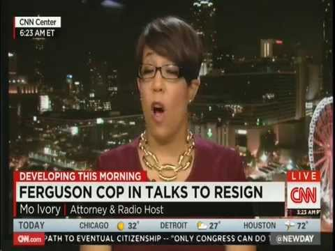 CNN Mo Ivory on Possible Resignation or Indictment of Darren Wilson 11/21/14