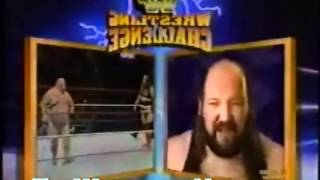 Earthquake John Tenta vs Bastion Booger