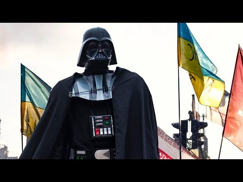 Darth Vader Running For Parliament in Ukraine?