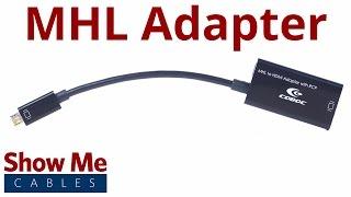 5 Pin Micro USB to HDMI MHL Adapter #3613